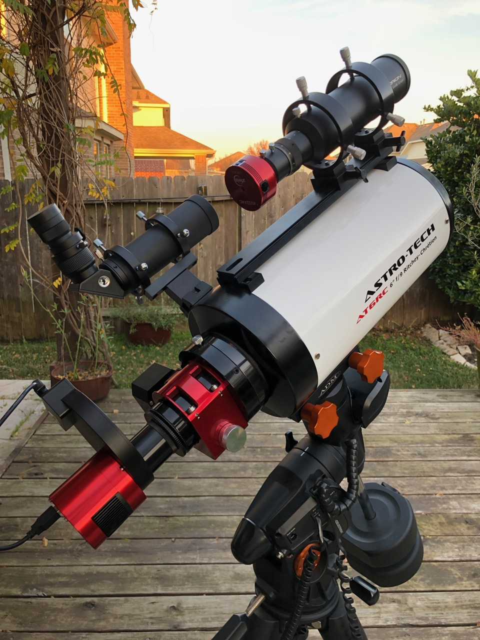 Here's the scope that took the image. The AT6RC with CCDT67 reducer and ZWO ASI1600MM-C camera.