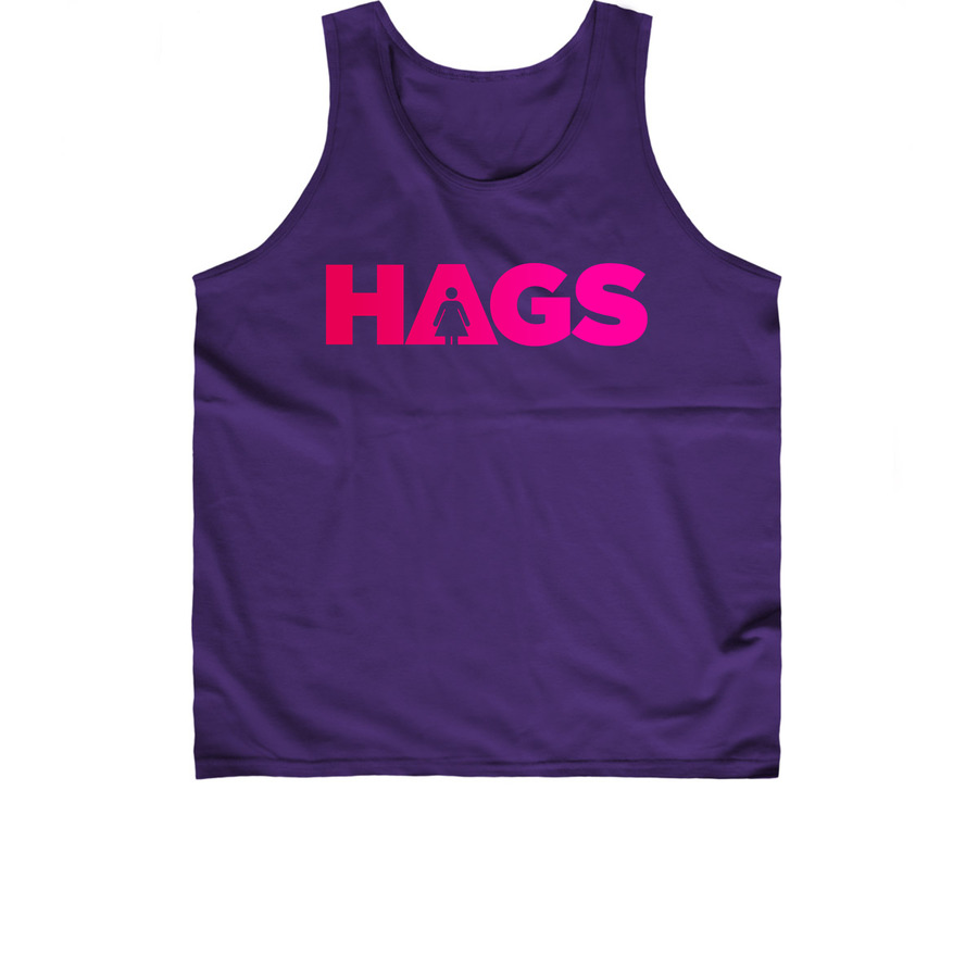 HAGS - Unisex Tank - Limited edition. Available in multiple colors and sizes!