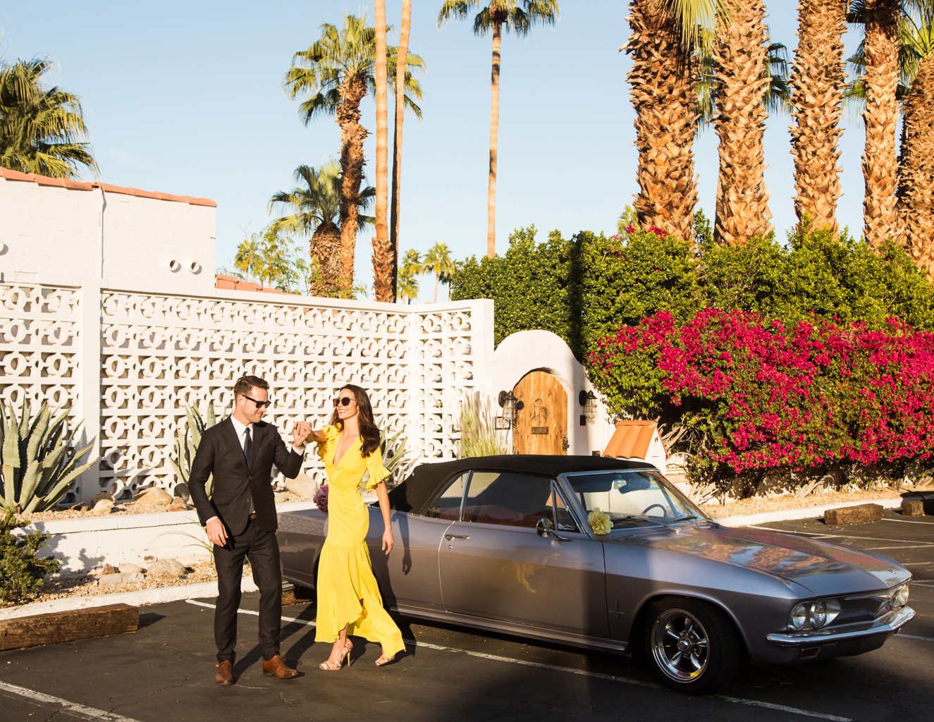 Palm Springs Engagement Sesssion