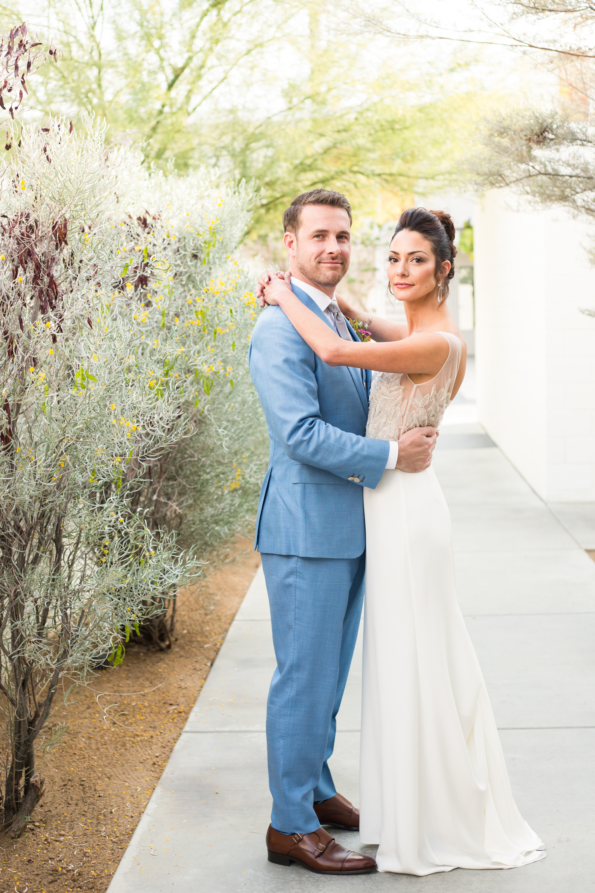 modern wedding at the Ace Hotel in Palm Springs