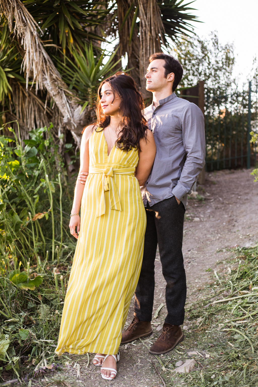 palos verde engagement session