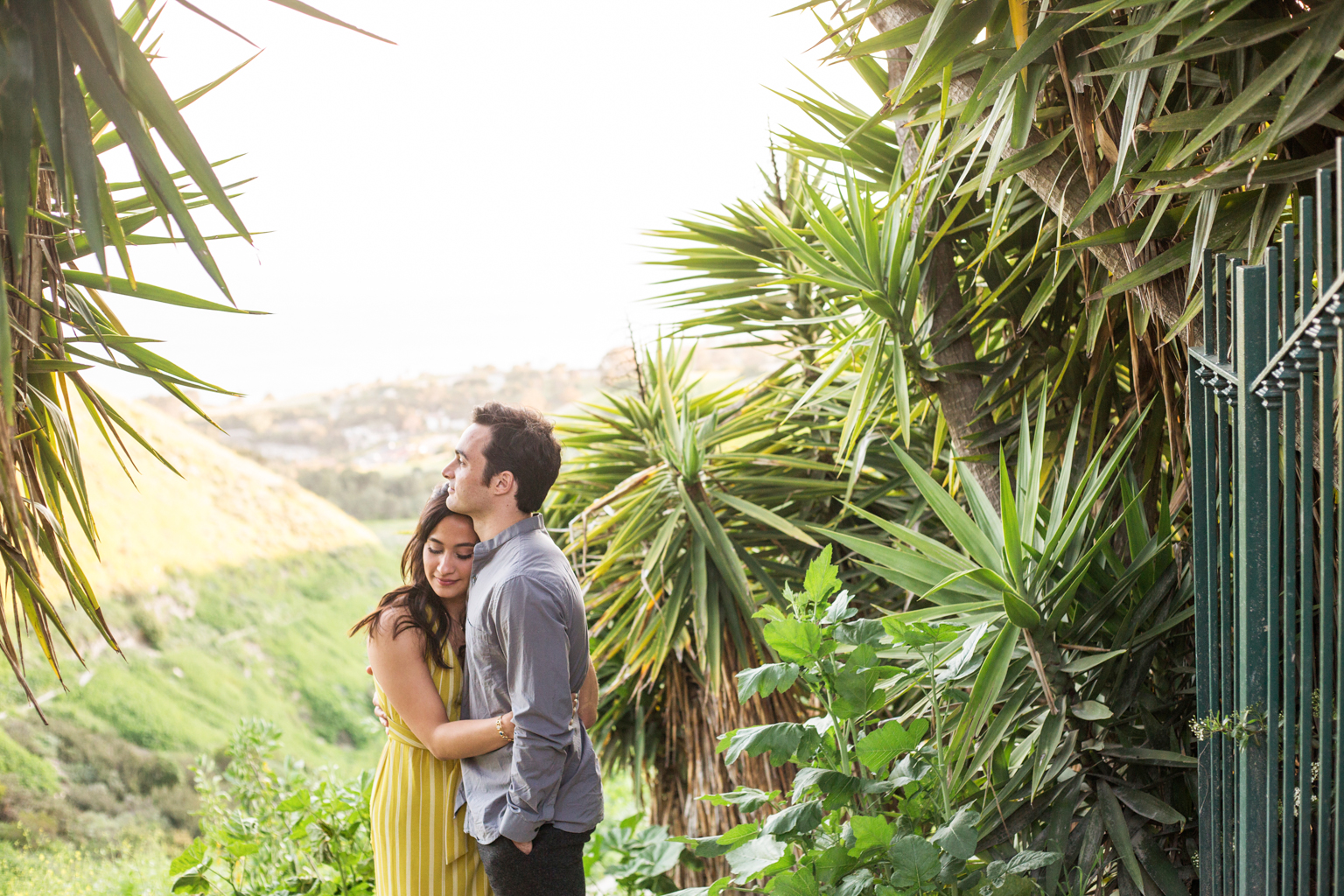 Palos Verde engagement session with a view