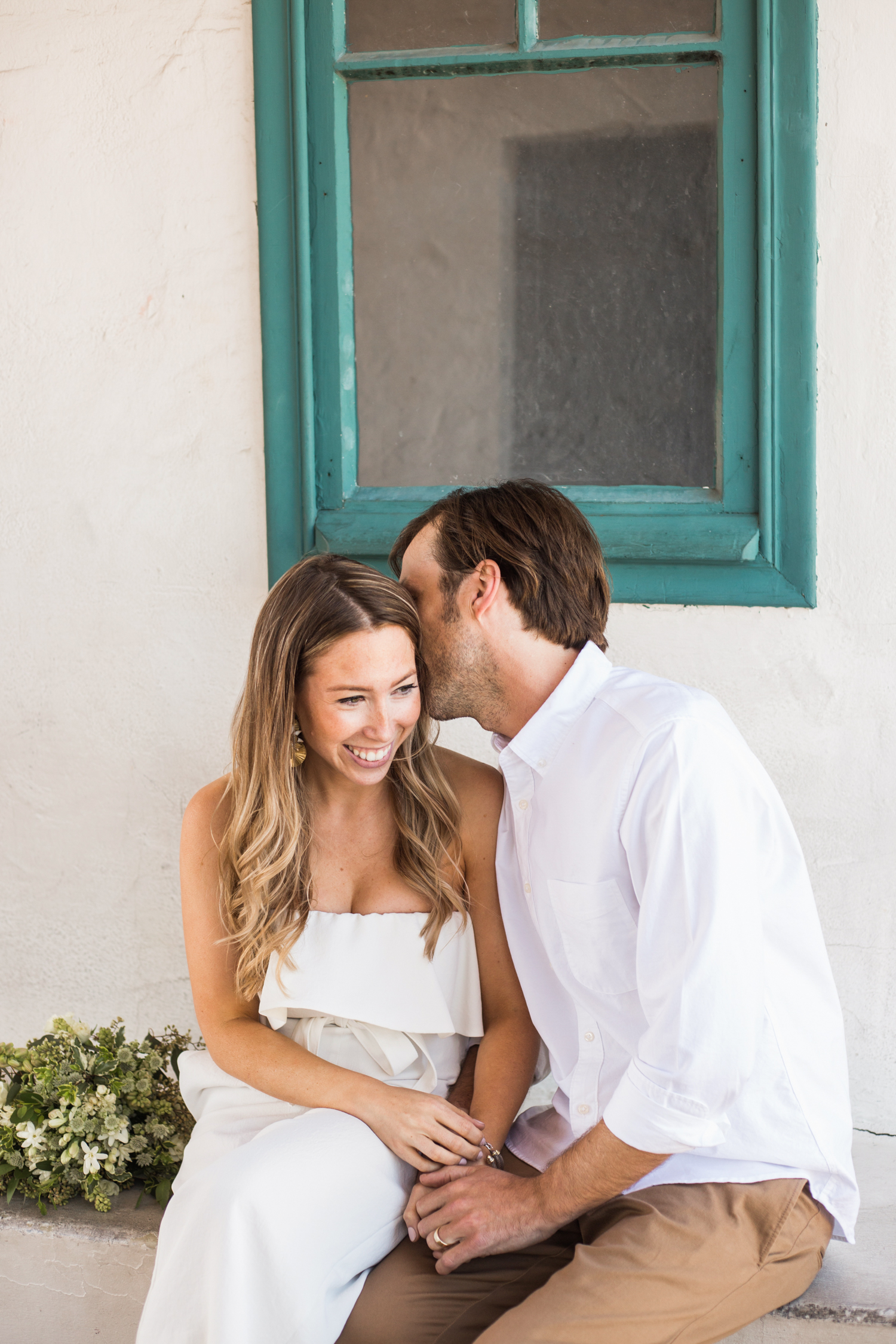 Bride and Groom portraits Santa Barbara Courthouse Wedding