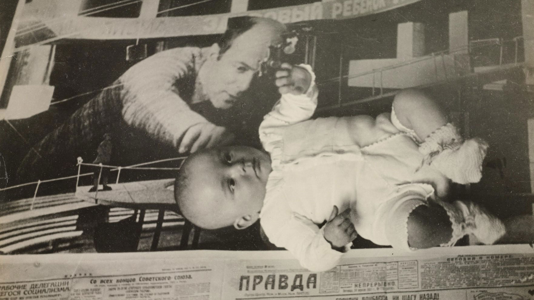 El Lissitzky, I WANT A CHILD, Photo-Collage, 1930.