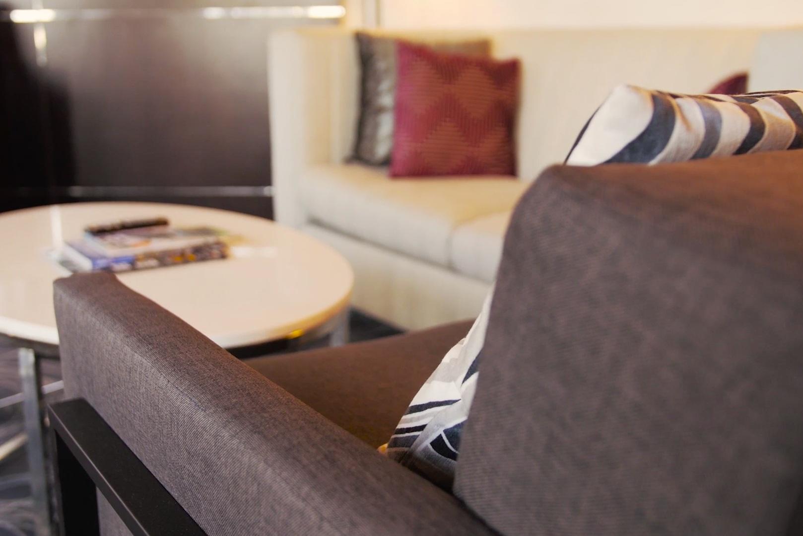 Hyatt SF Couch