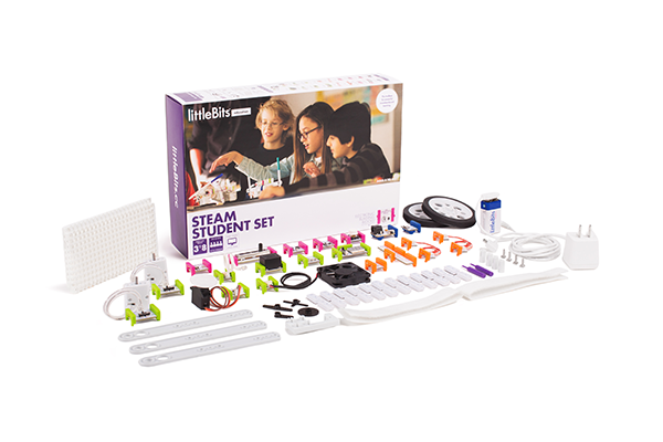 Students will use littleBits kits to design  their own  wearable technology representations of the body. (Image credit:  littleBits STEAM Set )