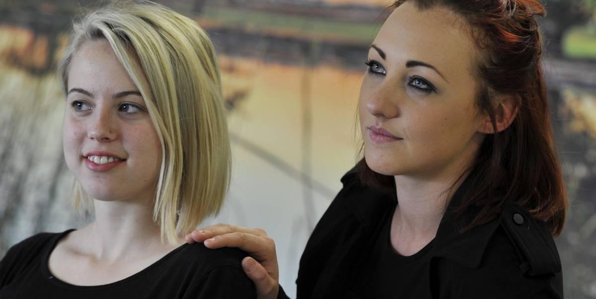 Embracing mental health: Samantha Brunskill with Emily Mitchell