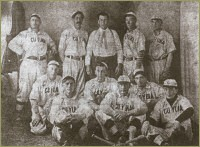 A baseball team was organized and played on a field dubbed Gopher Stadium (after the varmits that dug holes all over the place).