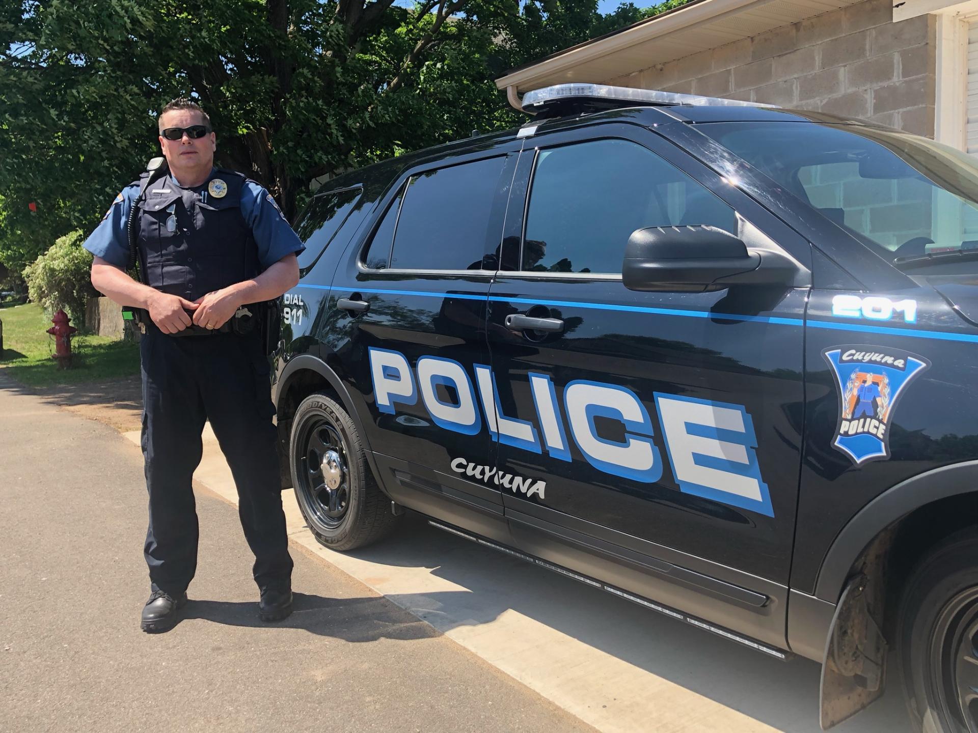 Officer Rick Kangas