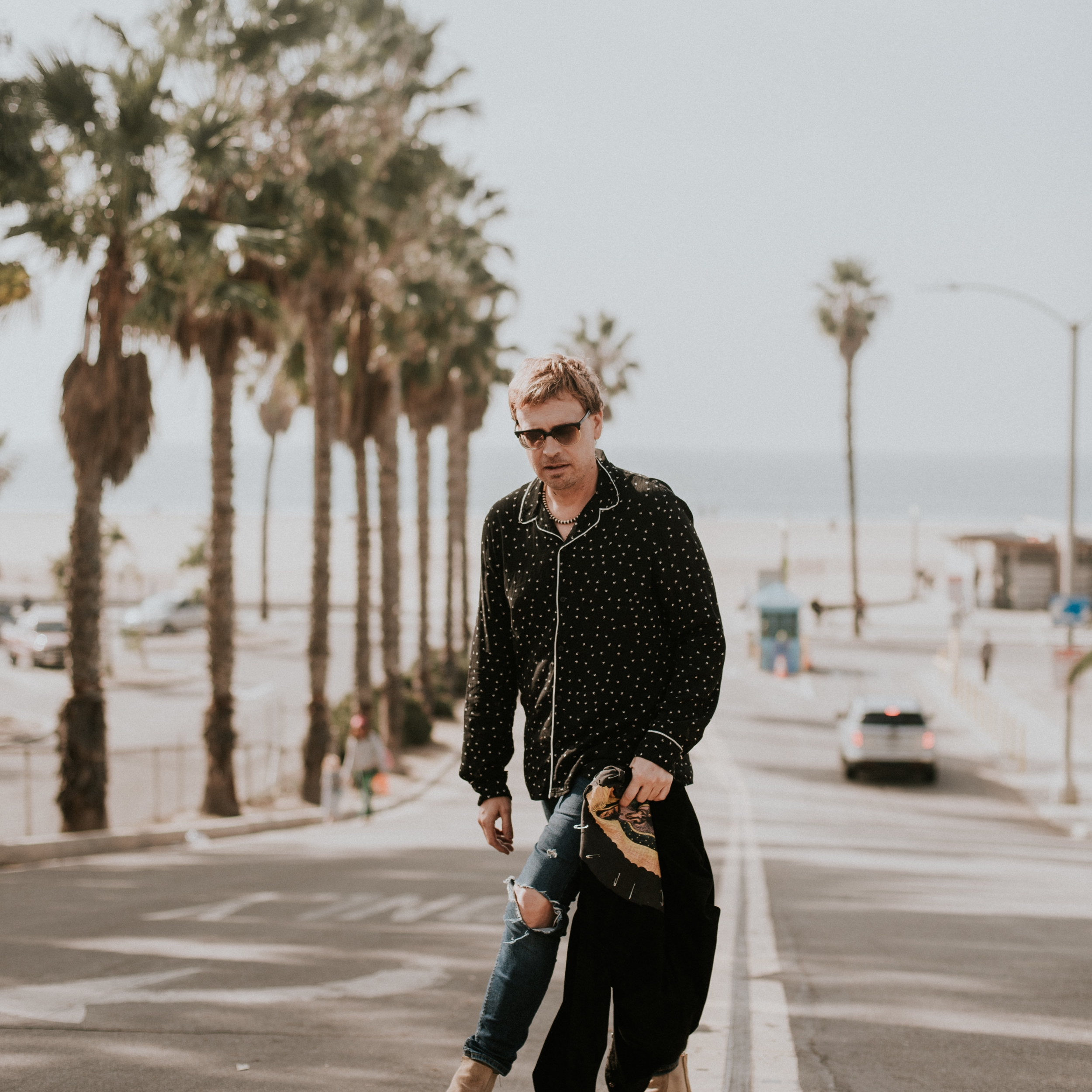 Aaron Vaughn / Stylist   Sign: Capricorn  Schedule: Tuesday, Thursday, Sunday  Instagram: @itsaaronvaughn  Hobbies: Digging for vintage clothes & vinyl  Experience: 10+ Years  Local Favorite: La Cabaña & Gjusta  Spirit Animal: Dolphin  Favorite Food: Ice cream  Salty Dream Destination: Bora Bora