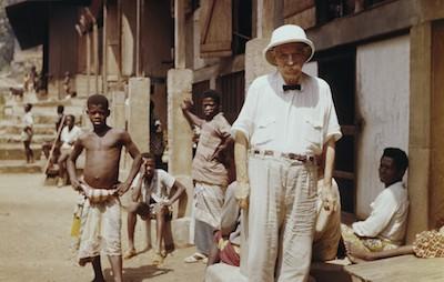 Doctor Schweitzer in Gabon