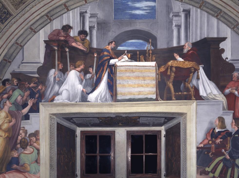 Mass at Bolena—Raphael