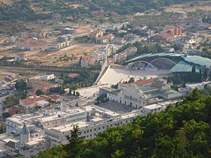 The sanctuary of Padre Pio