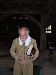 Enactment at Plimouth Plantation