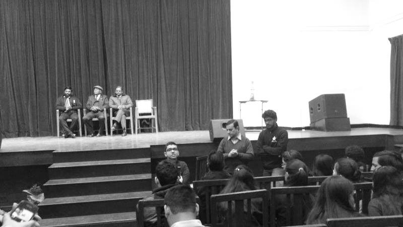 Talk at Drishtikon, St. Stephens College
