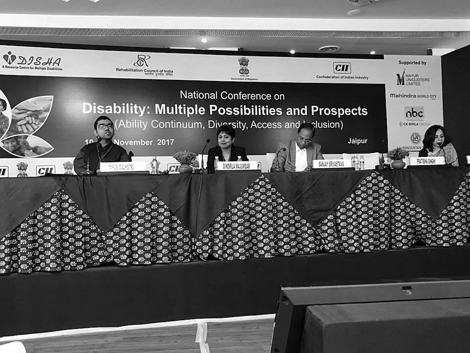 National Conference on Disability organised by Rajasthan Government and CII