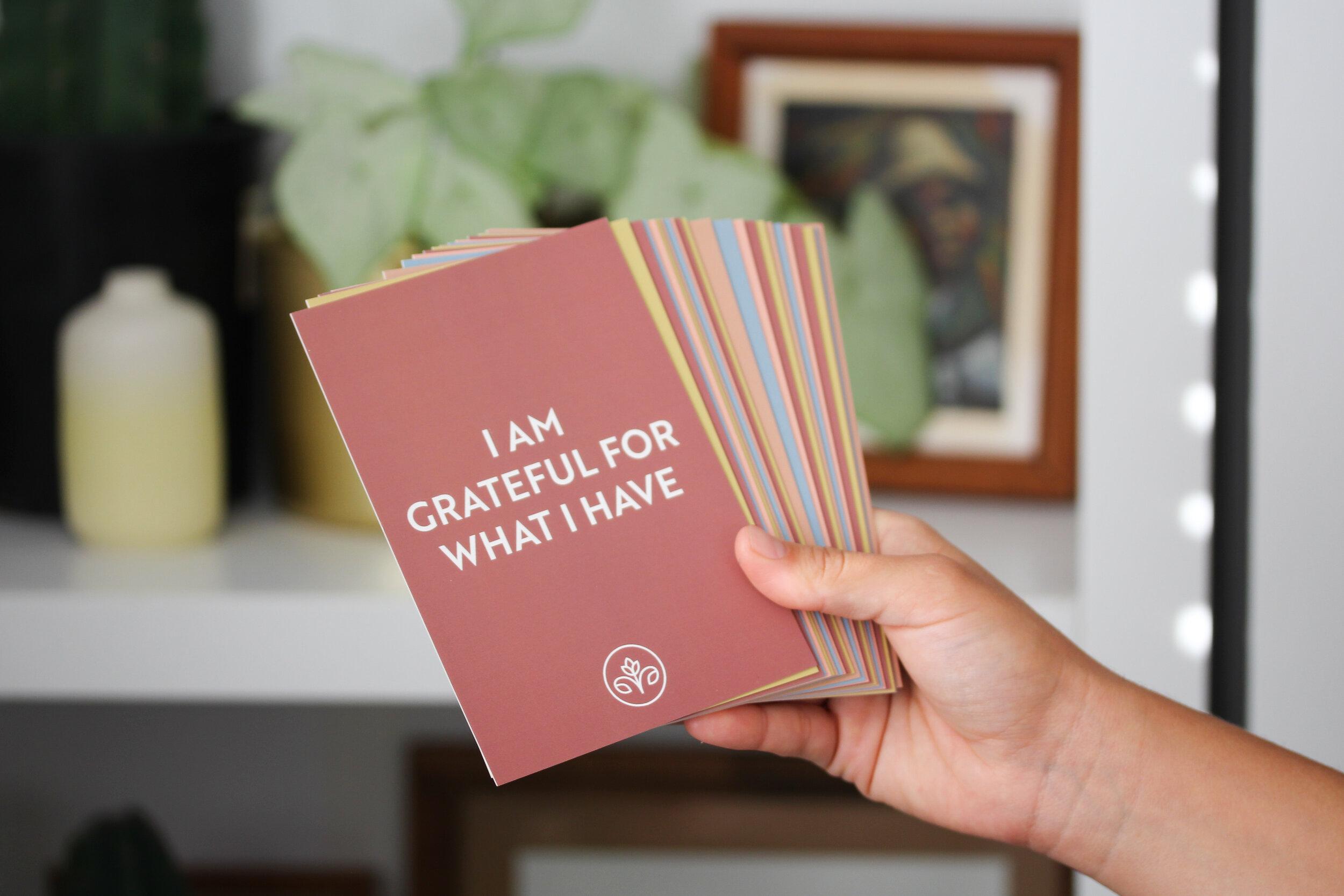 New Affirmation      Card Deck -
