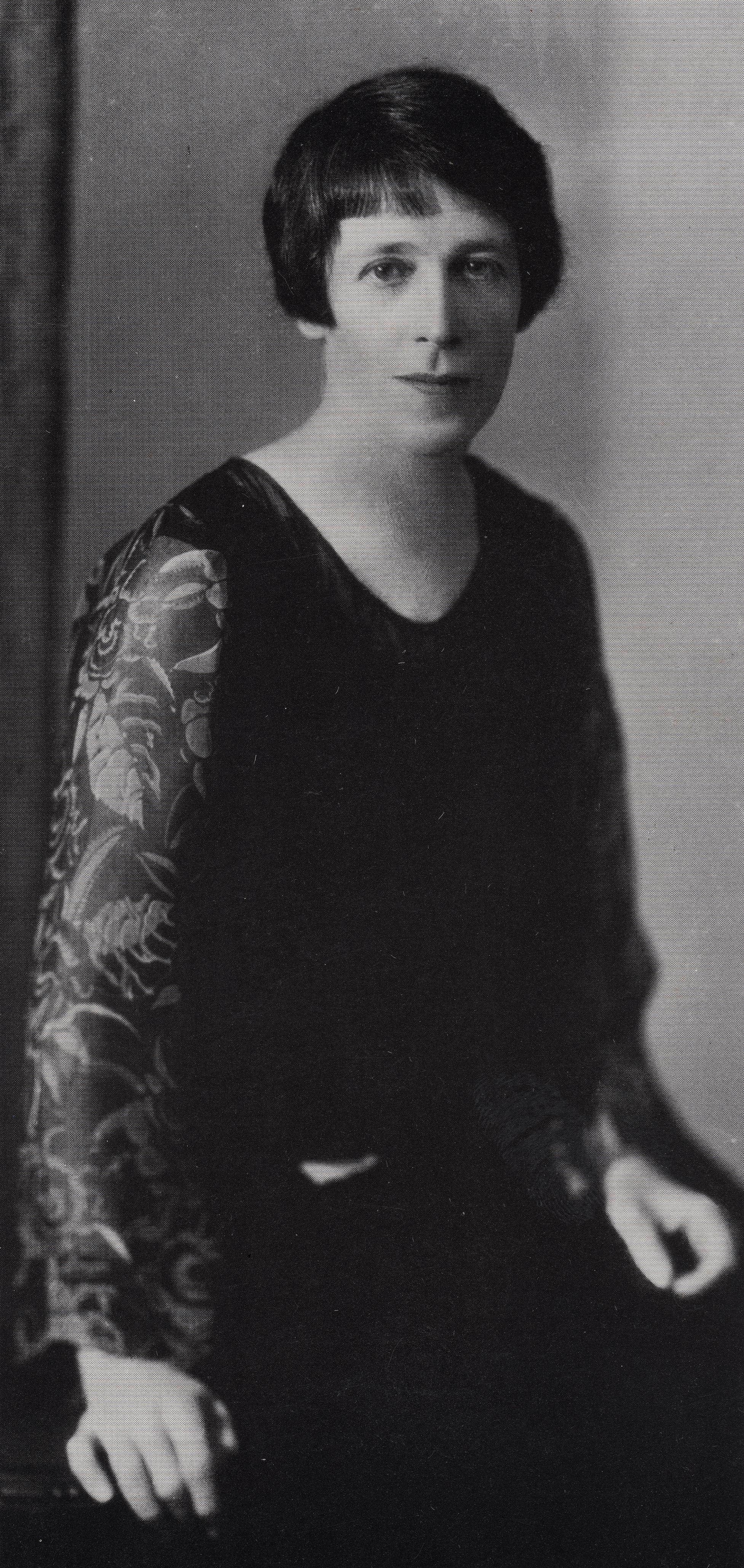 Vida Lahey, 1927, photograph courtesy of John and Hazel Lahey.