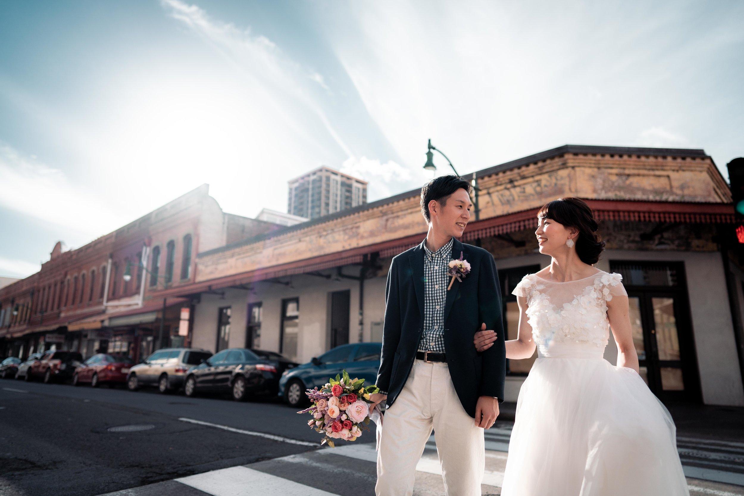Toshi Takahashi Hawaii Wedding Photographer Downtown.jpg