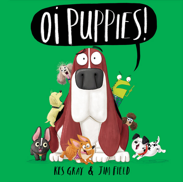Oi Puppies!  publishes the 3rd October 2019
