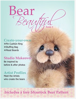 Bear Beautiful - Issue 1 - The very best Artists showcasedBear Beautiful is for sophisticated, bear makers, artists and collectors who are passionate about quality. Showcasing only the very best our industry has to offer.Check out the Artist profiles and make your own Shantock Bear Christmas Decoration.