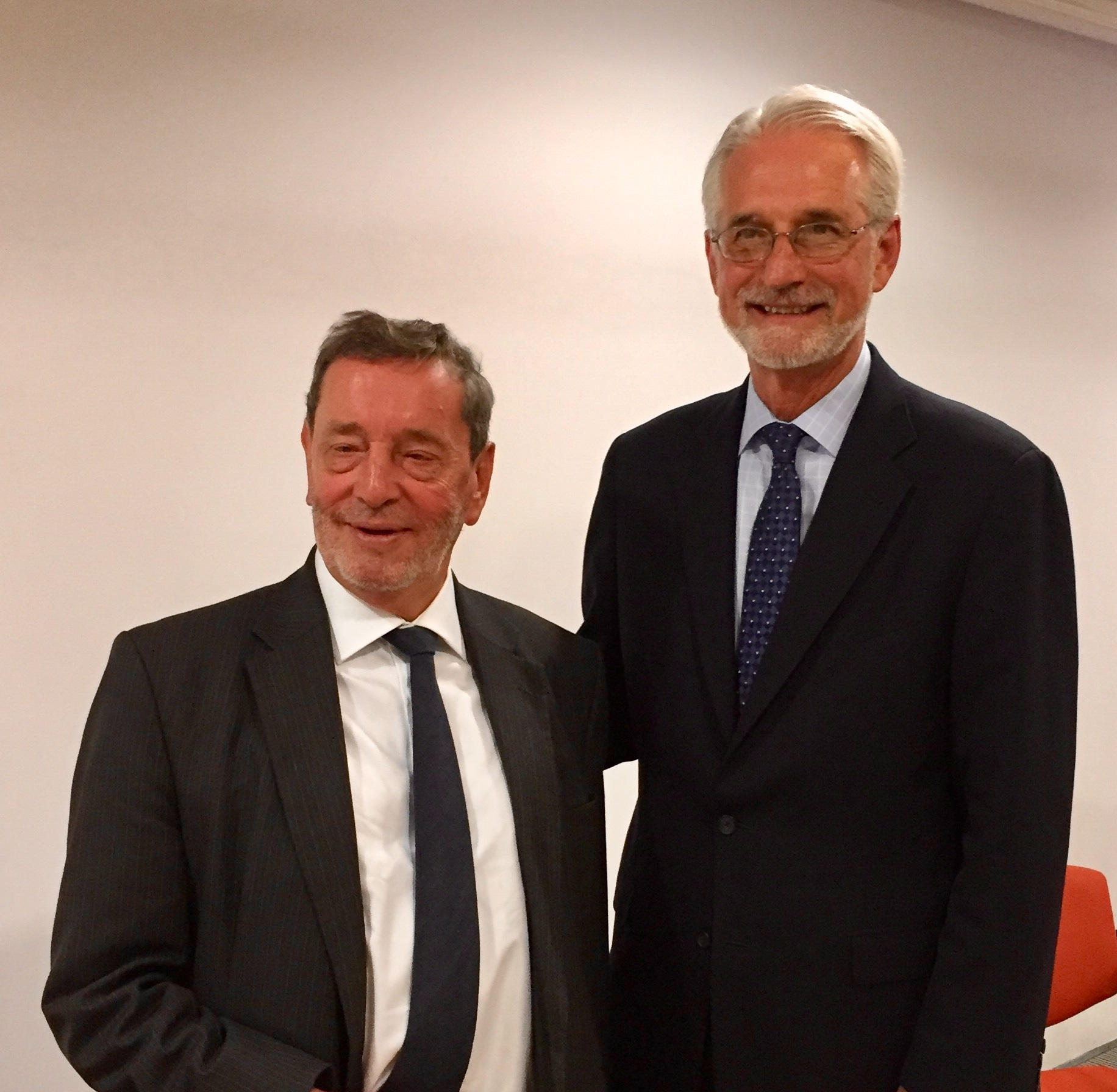 Lord David Blunkett, Chair of Sheffield City Partnership Board and Ted Howard, President of The Democracy Collaborative