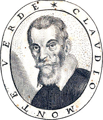 [Portrait from  Fiori Poetici ,  a compilation of poems for Monteverdi's funeral published in 1644]