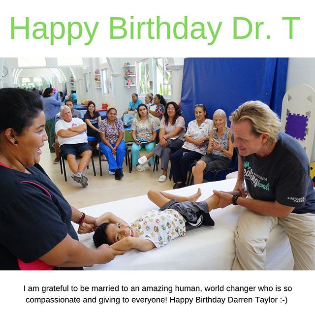 Happy Birthday Darren Taylor!  Thank you for being 💯 youER than you! Thank you for being an amazing human! Thank you for being compassionate and giving tontkae care of so many people around the world! I love you! ❤️ #impactpreneuer #worldchanger #doterrahhf #doterra #happybirthday #amazinghuman #love #celebrate