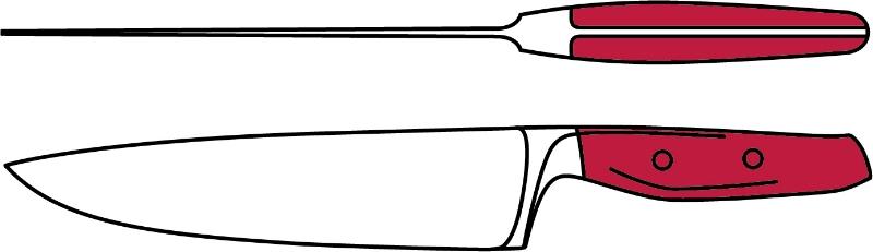 EPICURE Cook's Knife - new blade.jpg