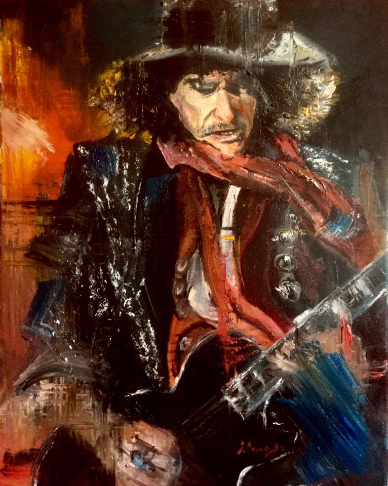 Joe Perry // Oil on Canvas // 40x50cm // 2017
