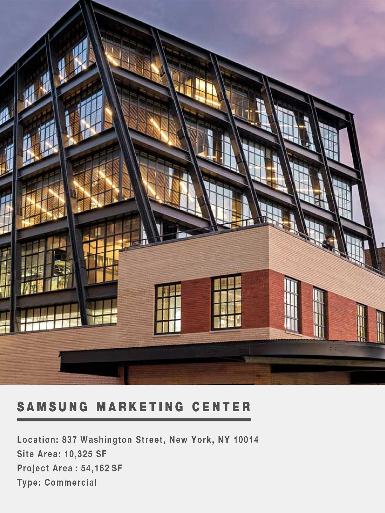SAMSUNG MARKETING CENTER