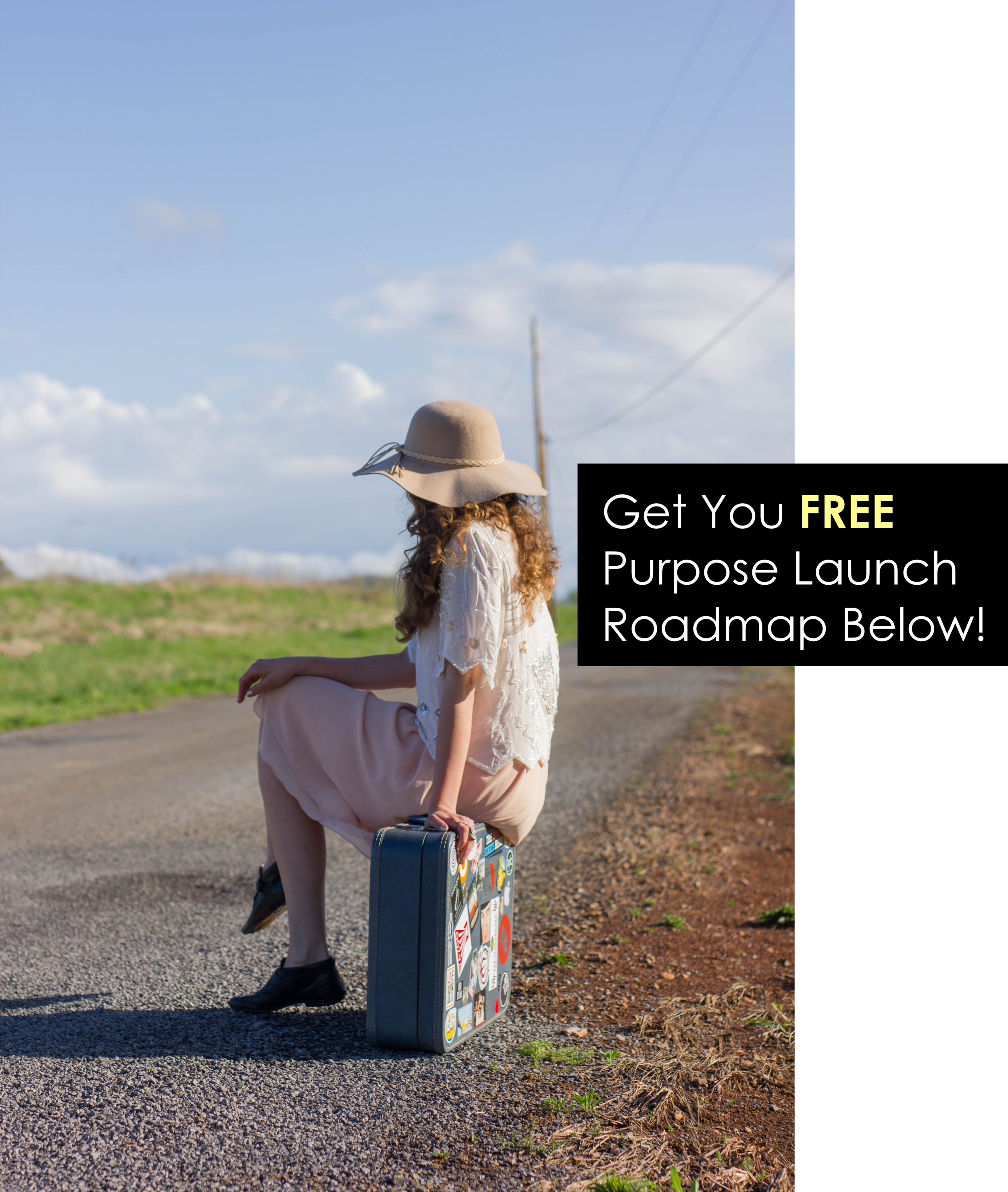 Get Your Free Road Map To Launching Your Purpose Without Spending a Dime! That's Right! It's Totally Possible!