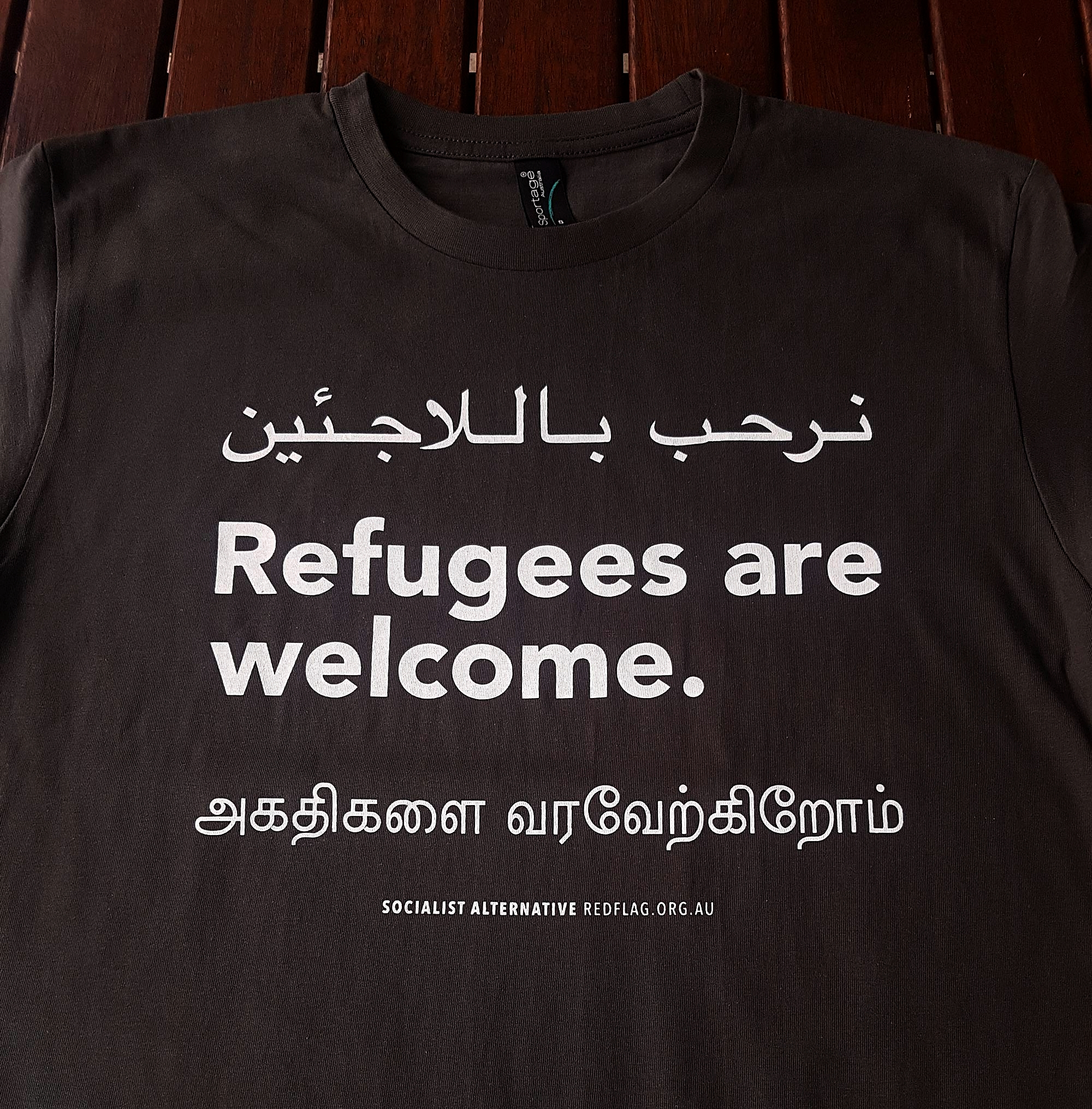 Refugees are welcome t shirt