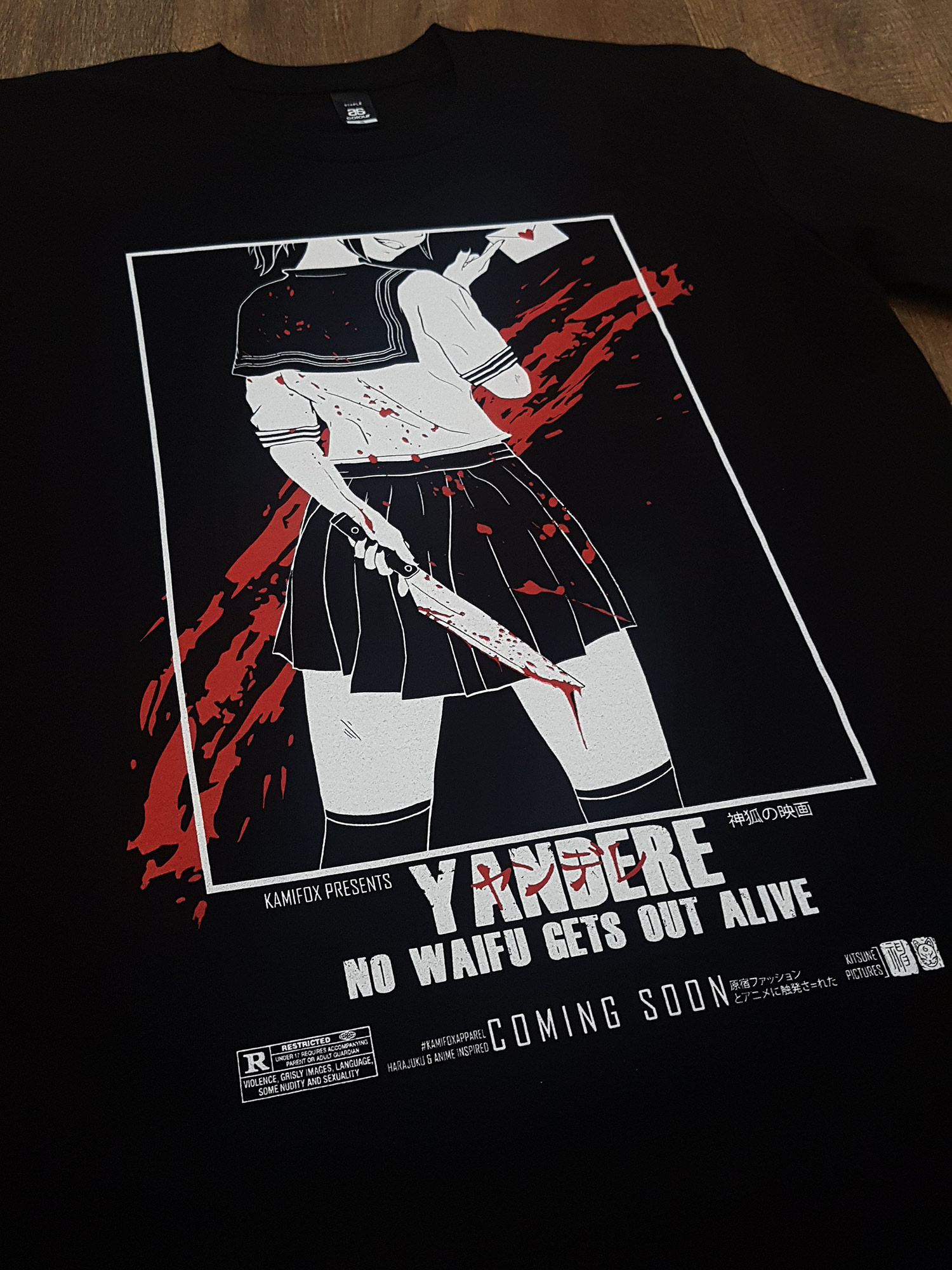 """Yandere"" for Kamifox Apparel"