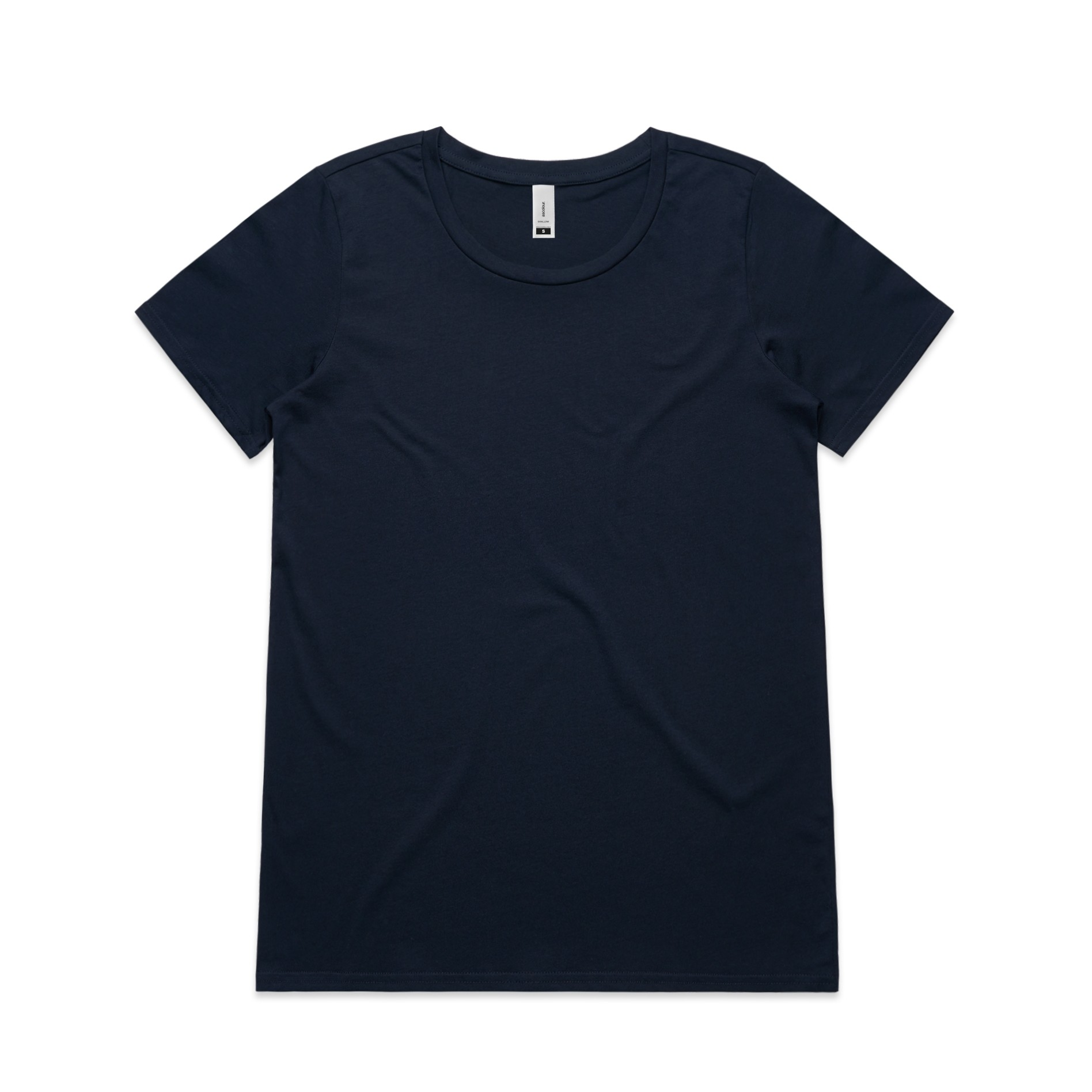 WO's Shallow Scoop Tee 4011 - Regular Fit | Scoop Neck | Light-Weight | 150 gsm | 100% Combed Cotton | Preshrunk | 4 Colours
