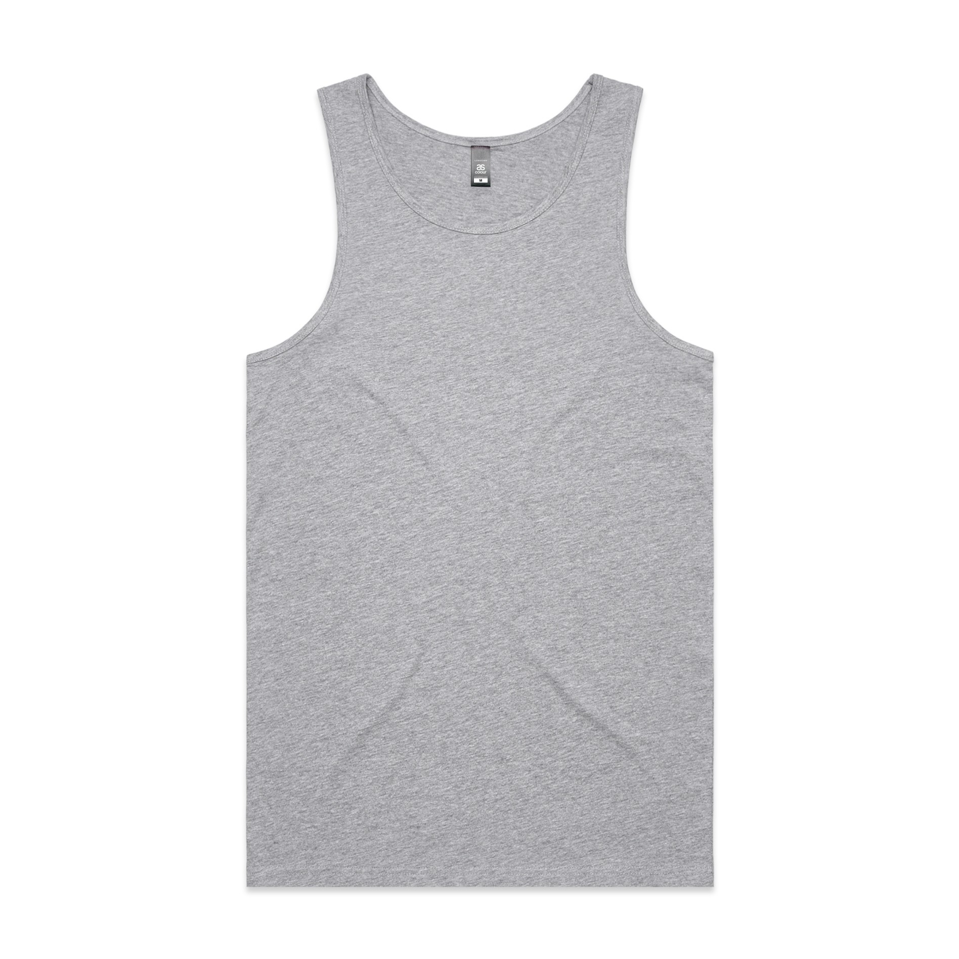 Mens Lowdown Singlet 5007 - Regular Fit | Regular Shape | Light-Weight | 150 gsm | 100% Combed Cotton | Preshrunk | 6 Colours