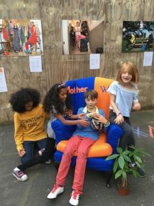 #MotherWorks chair fun