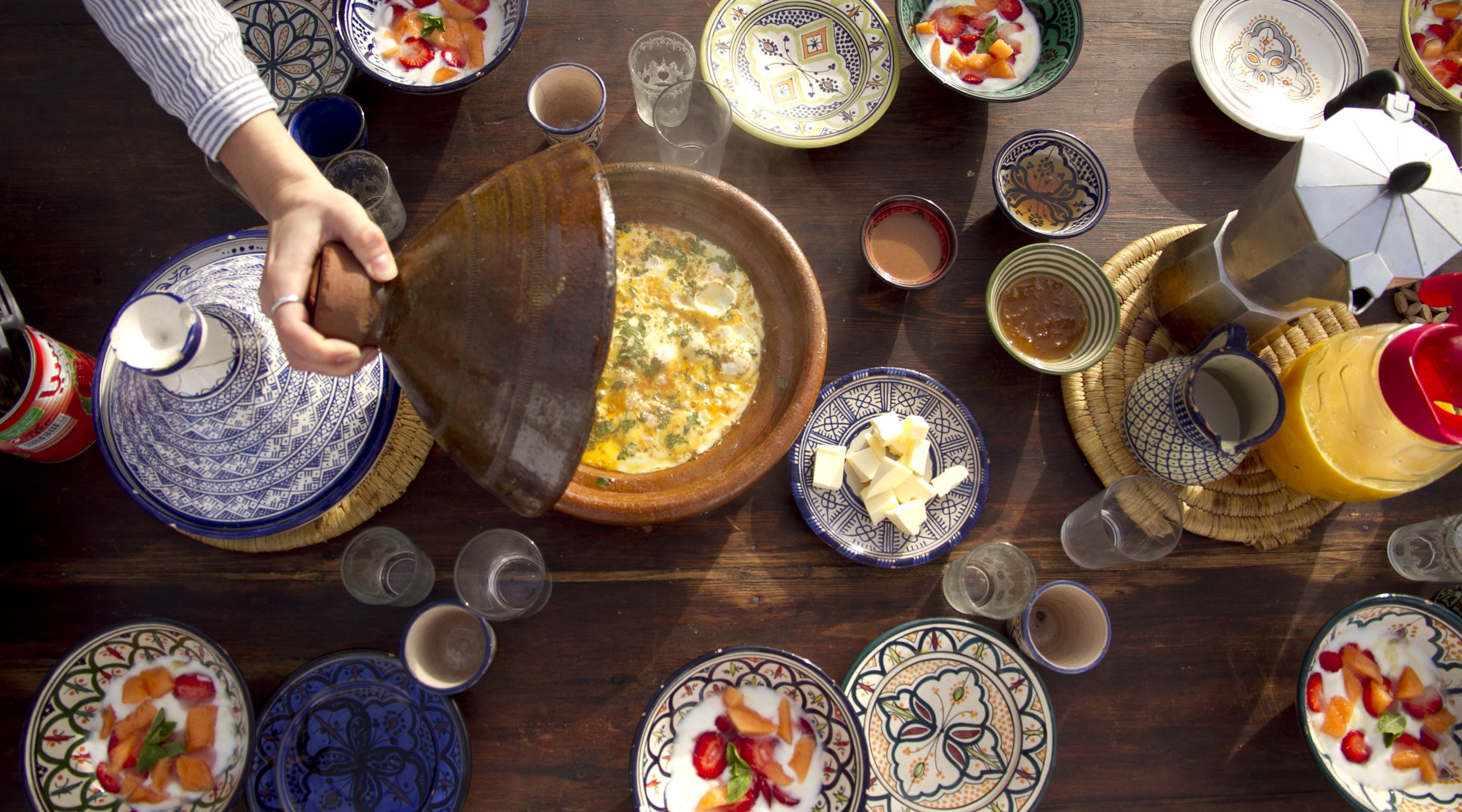 Cultural experience - Discover Moroccan spices and flavours...