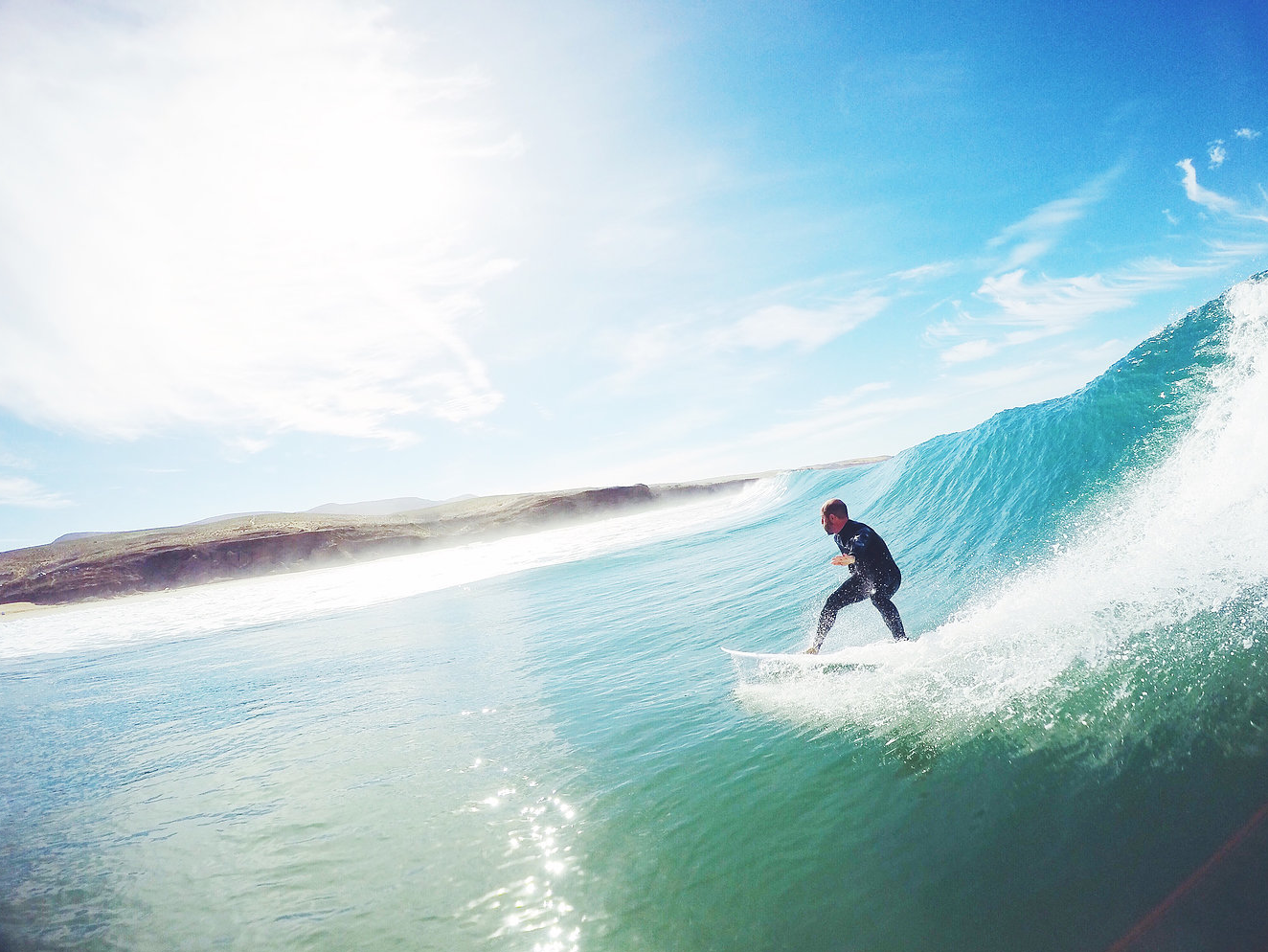 This could be you! - Clean, green, dreamy waves...