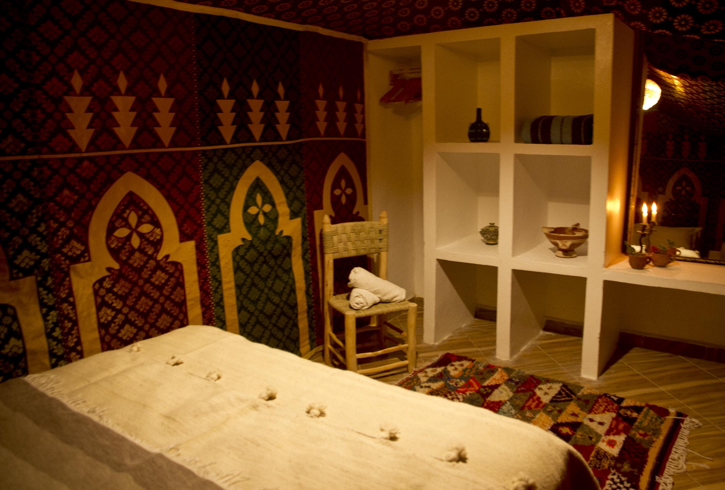 Berber wedding tent room