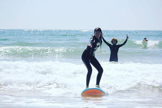 Fancy a bit of this? Every day we are on waves.  Endless summer, endless waves. . . . . . . . . . . . . . . . . . . #endlesssummer  #surfer  #girlaroundtheworld  #surflife #girlswhosurf #amayoursurf  #taghazout  #surfing #learntosurf  #surfyoga #morocco  #surflife #surfholidays  #surfholiday  #surfmorocco  #surfstoke  #holidaylove  #passionpassport  #dametraveler  #travelstoke  #lifegoals #beach  #beachday  #beachlifevibes