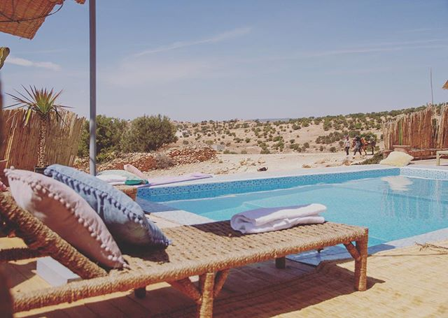 How's your summer? Half way through it? At the end?  Don't worry it's always summer here ( nearly)  Get booking for your surf and yoga holiday with us at amayour surf.  If you want to chill by this pool check out our upcoming retreats page or ask your yoga teacher to hold a retreat with us here. . . . . . . . . . . . . . . . . . . . . . . #taghazout  #amayoursurf  #tamazirtbyamayour  #yoga  #yogaretreat  #holidaydestination  #endlesssummer  #wintersun  #surfer  #surf #surfmorocco  #surflife  #yogaeverydamnday  #secretescapes  #simpleluxury #bohostyle  #om #freedom  #passionpassport  #dametraveler  #exploremore  #yogi #yogajourney  #surfergirl  #poolvibes