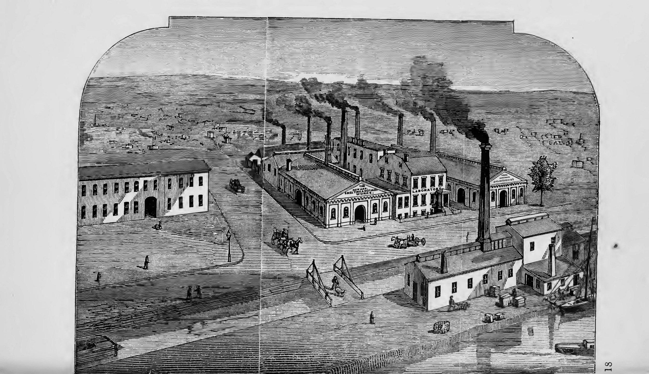 Franklin Ford, The Industrial Interest of Newark ,(N.J., New York: Van Arsdale & Co, 1874).