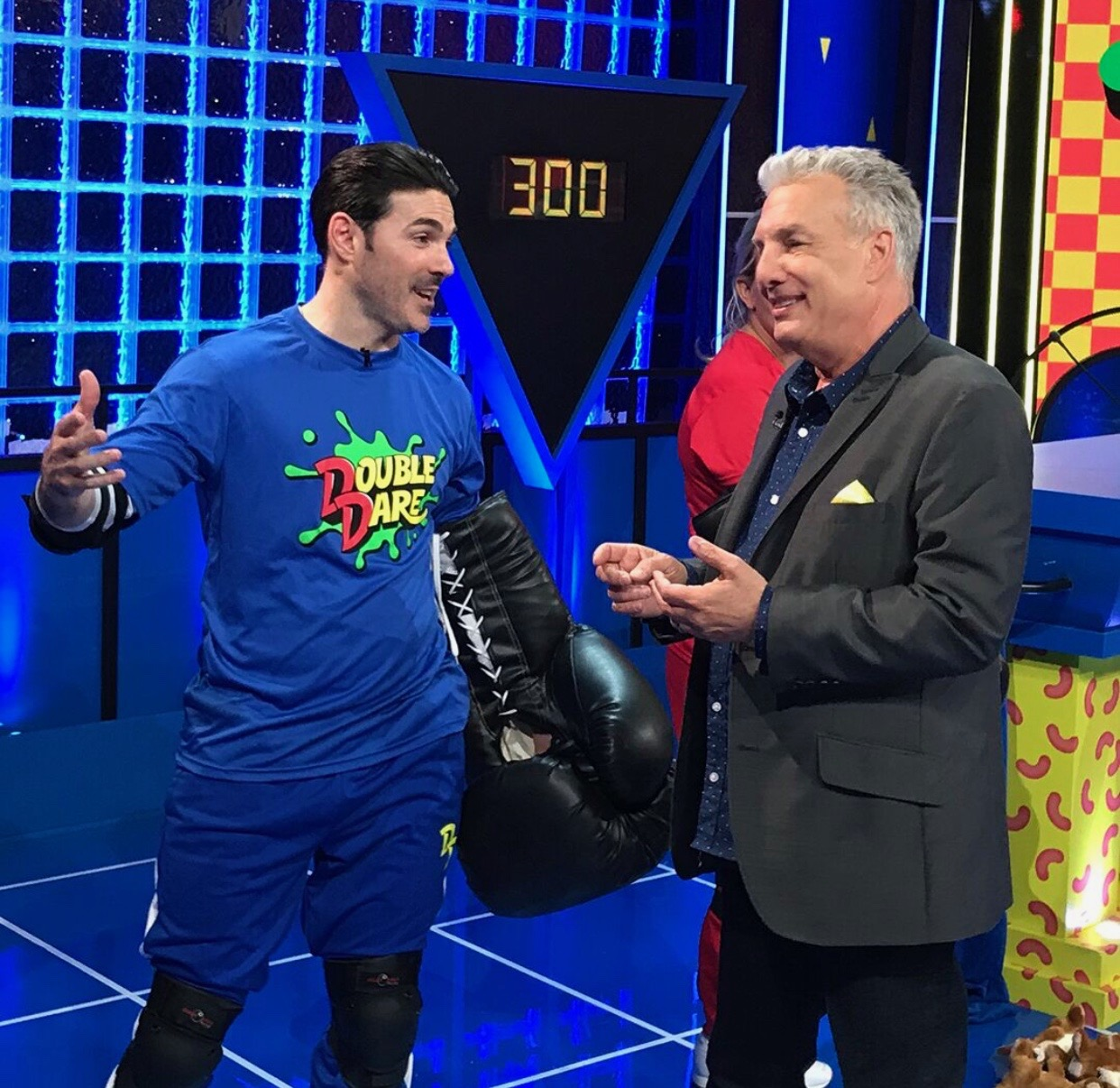 Josh and Marc Summers catch up behind the scenes