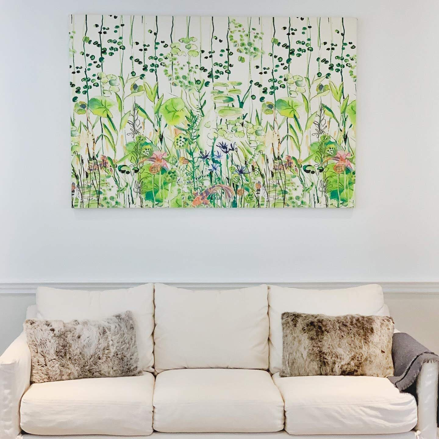 TEXTILE ART - Custom Textile art for your home.
