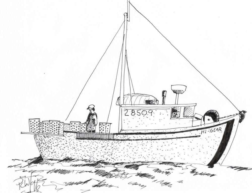 A rendition of the original Hi-Gear.
