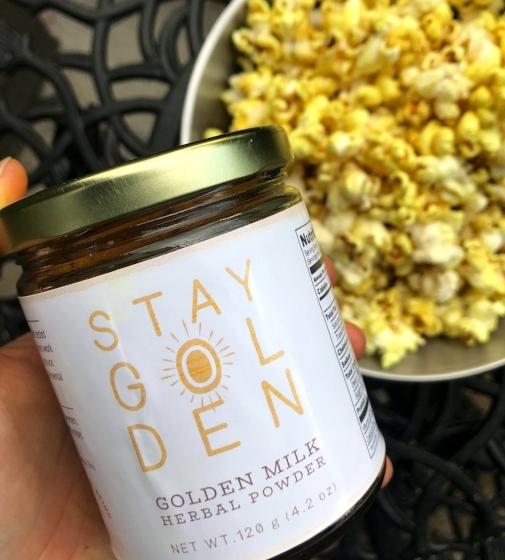 Stay Golden Stovetop Popcorn