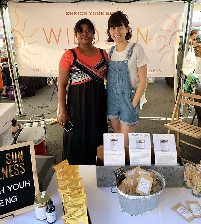 Pop on by Phoenix Public Market's Open Air Market today from 8-1, we will be here serving up delicious ICED samples of our herbal blends ❄️ #enrichyourbeing #wildsunwellness