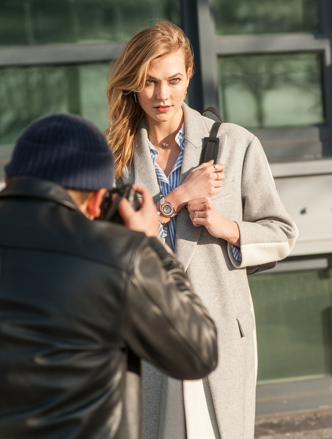 Karlie Kloss / Swarovski / Behind the Scenes