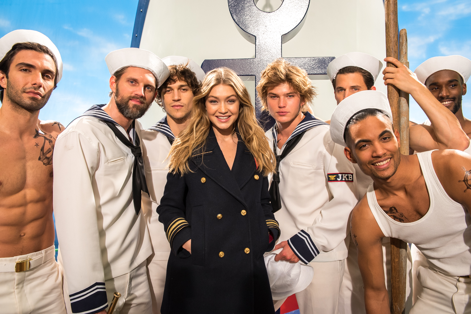 Gigi Hadid / Tommy HIlfiger Photoshoot / Behind the Scenes